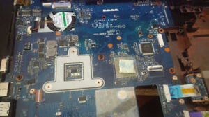 samsung laptop replacment mother board parts np355vc