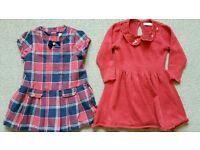Girls dresses size 1.5-2years