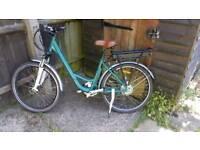 Lady's electric bike