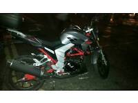 Lexmoto Venom SE 125 , Perfect condition and 3 yars MOT , all tax payd