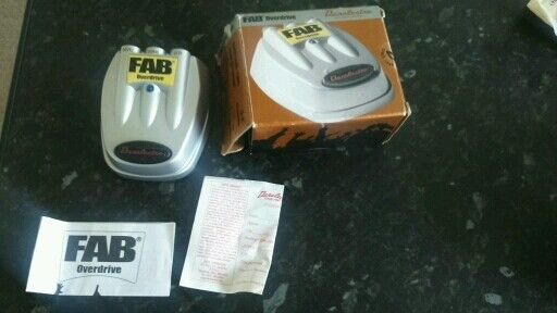 Danelectro Overdrive Pedal like new with box instructions Working order £8 WILL POST WITHIN THE UK