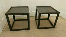 2 home made bedside tables