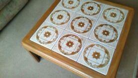 70'S retro G -Plan Square coffee table.