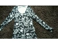 Size 12 top and dress