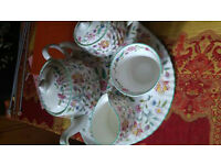 Minton tea set