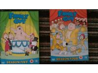 Complete Seasons 4 and 5 of Family Guy