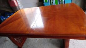 Mahogany large extended table for sale