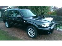 2005 SUBARU FORESTER XT, £1750 o.n.o or SWAP for BMW 330d estate(MUST be AUTO).