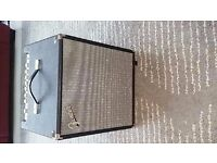 Fender Rumble 100 watt bass amp. Powerful and very light. Retails at £220