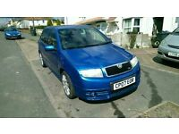 Skoda Fabia Vrs 2007 1.9TDI PD SPECIAL EDITION BLUE, M.O.T, SERVICE HISTORY, ON OFFER