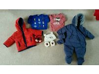 3-6 month baby boy winter bundle