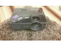A rarely used black BENQ ms500 projector . In great condition with original box . .