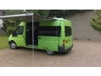 Funky transit converted campervan