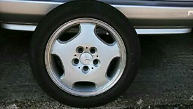 "Mercedes 16"" Wheel & Tyre"