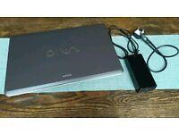 "Sony VAIO PCG-8152M 18.4"" Display"