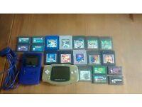 Gameboy colour,gameboy advance plus 19 games