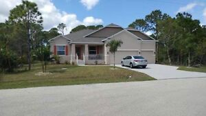 4 bed, 3 bath new home, port charlotte, 2600sq ft,close to beach