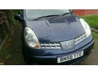 2008 Nissan Note Spares Repair