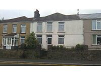 Larger than average 3 bedroom family house for sale in Trealaw RCT.