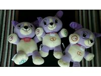 Leap Frog My Pal Violet Bears £3 Each