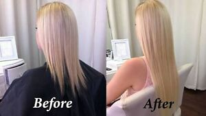 Full head of tape hair extensions Chatswood Willoughby Area Preview