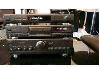 Technics amplifier cd player
