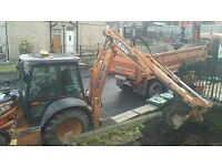 Groundworks, Driveways, Tarmac, Excavations, Tipper Grab Hire
