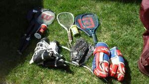 Raquettes pour racketball et badminton