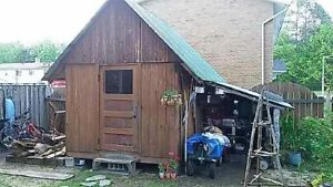 Shed 8'×10'