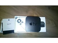 Apple TV 3rd generation 2012 with remote control