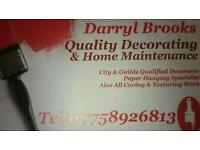 Darryl Brooks QUALITY DECORATING AND BUILDING MAINTENANCE