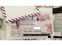 4 x Bestival Tickets (Adult) - selling at £190 each MEET IN LONDON