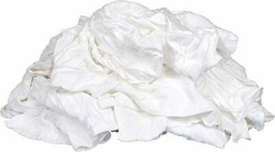 10 Lb. Box Of Reclaimed White Cotton Rags