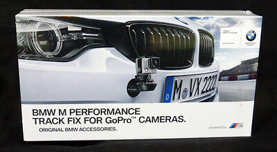 BMW OEM GoPro Camera Track Fix M Performance Front Bumper Mount F Generation NEW