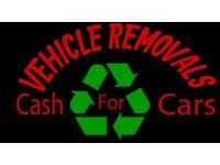Scrap cars wanted and unwanted vehicles bought for cash