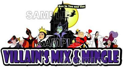 Disney Mickey's Not So Scary Halloween Villain's Mix & Mingle Scrapbook Piece](Not So Scary Halloween Crafts)