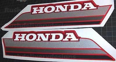 1985 85 Honda Atc 250Es Big Red Atv 2Pc Gas Tank Decals Stickers 250 Es