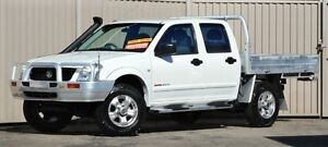 2004 Holden Rodeo RA LX (4x4) White 5 Speed Manual Crewcab Lismore Lismore Area Preview