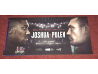 4x Anthony Joshua vs Carlos Takam (pulev) tickets