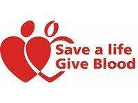 Give Blood @ Horsham Y.M.C.A Football Club TOMORROW