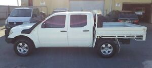 2008 Nissan Navara D40 RX (4x4) White 6 Speed Manual Dual Cab Pick-up Burleigh Heads Gold Coast South Preview