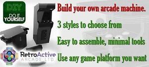 Arcade machine parts, build your own arcade machine!