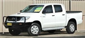 2010 Toyota Hilux KUN26R 09 Upgrade SR (4x4) White 4 Speed Automatic Dual Cab Pick-up Lismore Lismore Area Preview