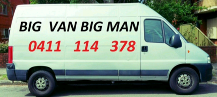 BIG VAN and BIG MAN service (from$40)