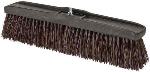 "PRO-SOURCE 18"" Heavy Duty Polypropylene Push Broom"