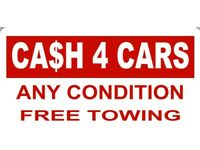 Scrap cars and all unwanted vehicles bought for cash today