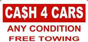 GET Up to $2500.00 CASH and Free Towing 5877107720 Strathcona County Edmonton Area image 1