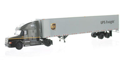 Diecast tonkin contemporary manufacture tonkin ups freight volvo vnm with sleeper and 53 van trailer 164 fandeluxe Gallery