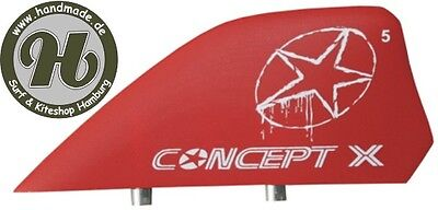 Concept X Kite Kiteboard Finne Kitefin Fin 6cm HC ROT… |
