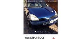 Non Starter - 53 Plate Renault Clio 1.5 Diesel